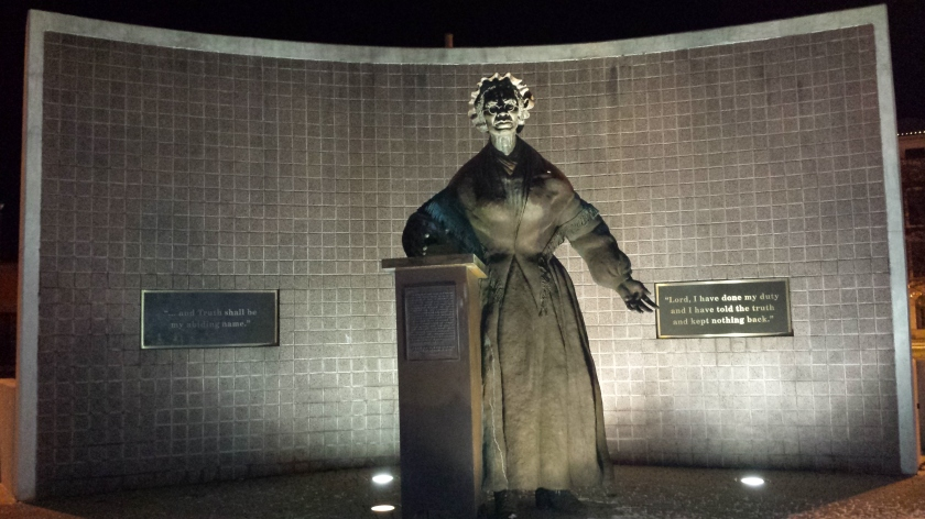 Sojourner Truth memorial in Battle Creek