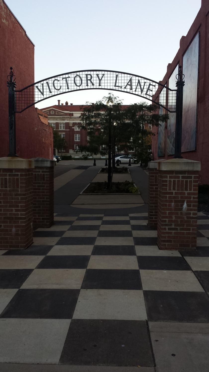 Victory Lane, between Restaurant One Five One and Bella Notte in Downtown Jackson