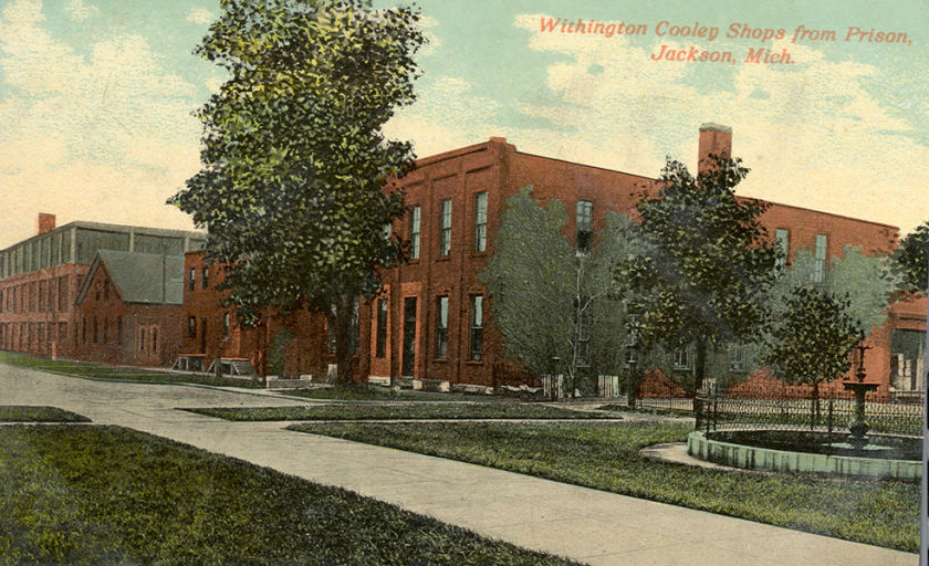 Withington Cooley Shop building, today's Art 634 in Jackson, Michigan